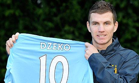Edin Dzeko  (d. 17 Mart 1986, Saraybosna), Boşnak futbolcudur.