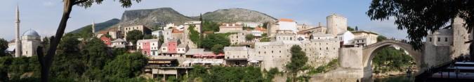 Panoramik Mostar Görüntüsü…