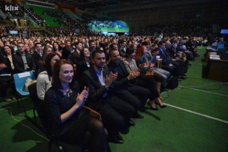 Saraybosna Üniversitesi'nde Toplu Mezuniyet Töreni