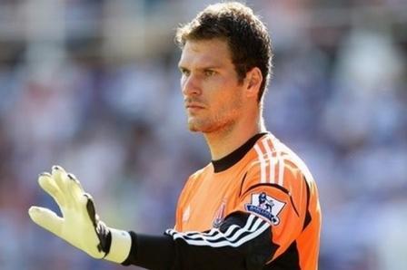 Stoke City' nin kalecisi Asmir Begovic
